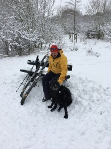 skiing in Sutton Coldfield
