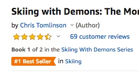 best selling ski book